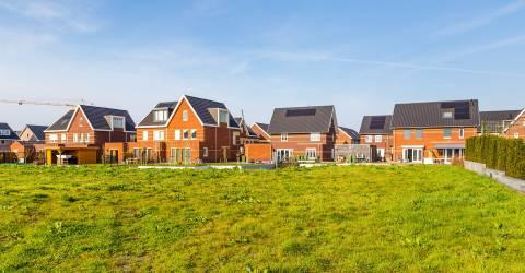Nieuwbouwwijk in Nederland